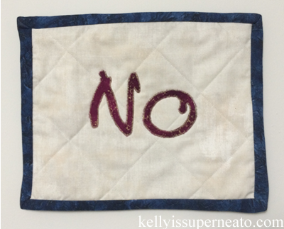 no by kelly lorraine | kellyissuperneato.com
